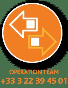 Vitadis, operation team