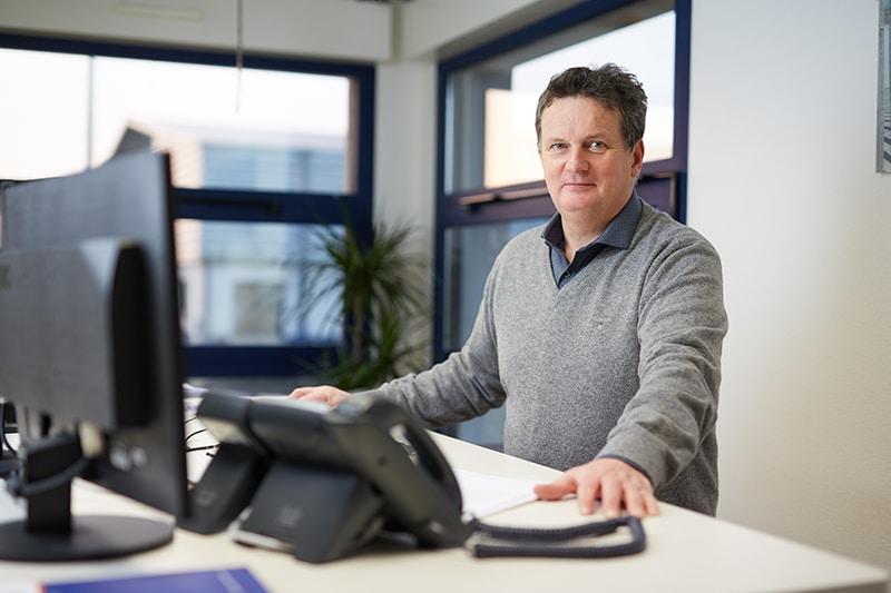 Yves sauvage, directeur de Vitadis, transport et logistique