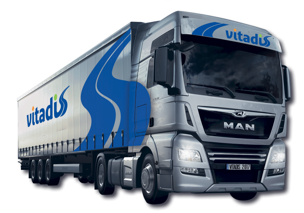 camion de transport 3D vitadis