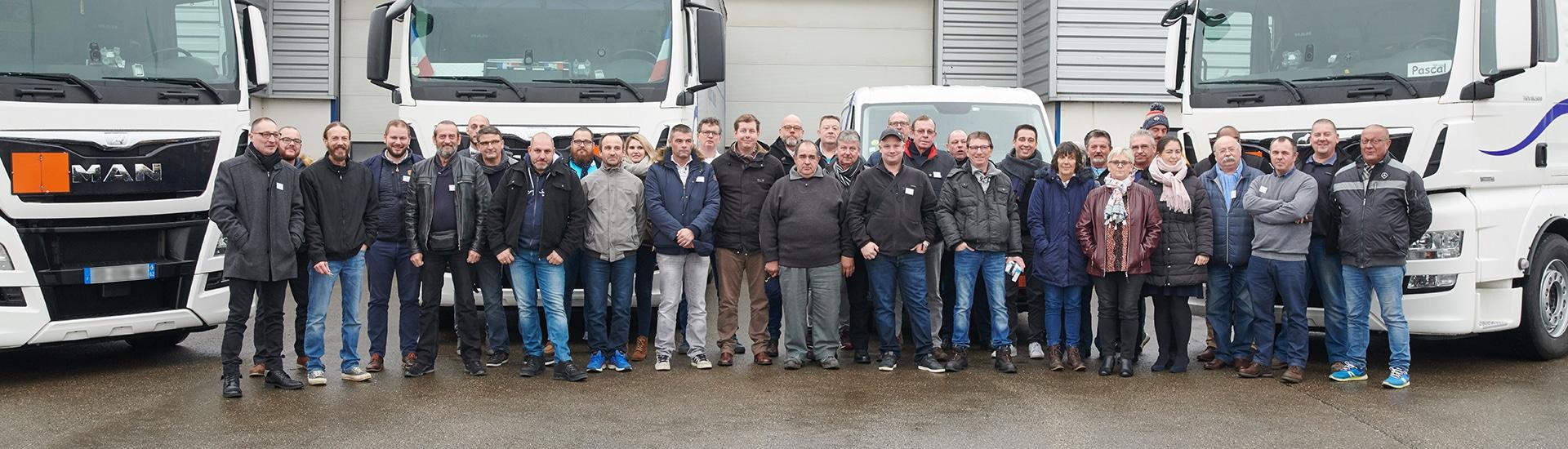 Employé, équipe de Vitadis, société de transport et logistique internationale