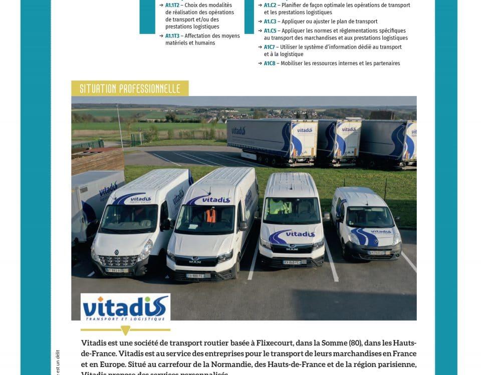 Etude de cas : Mise en œuvre d'opérations de transport et de prestations logistiques